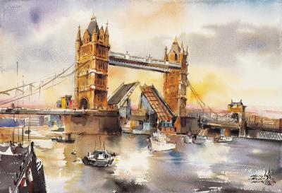 <愛戀倫敦橋>,2008。