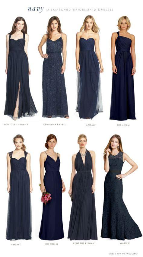 Navy Bridesmaid Dresses on Pinterest   Navy Bridesmaids