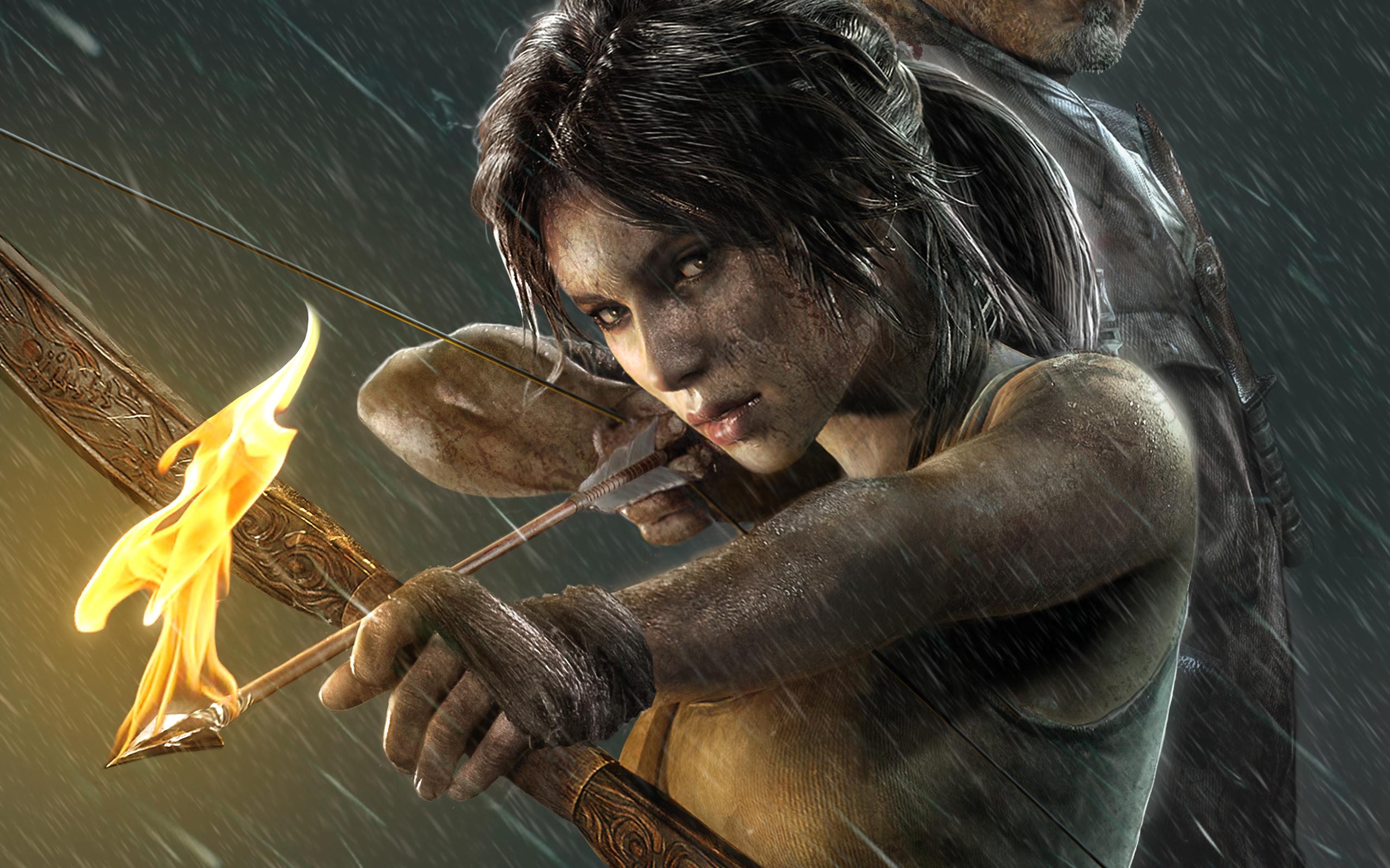2013 Lara Croft Tomb Raider Wallpapers Wallpapers Hd