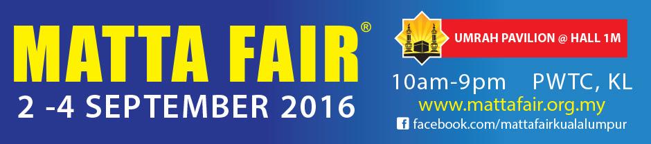 MATTA Fair 2 - 4 September 2016