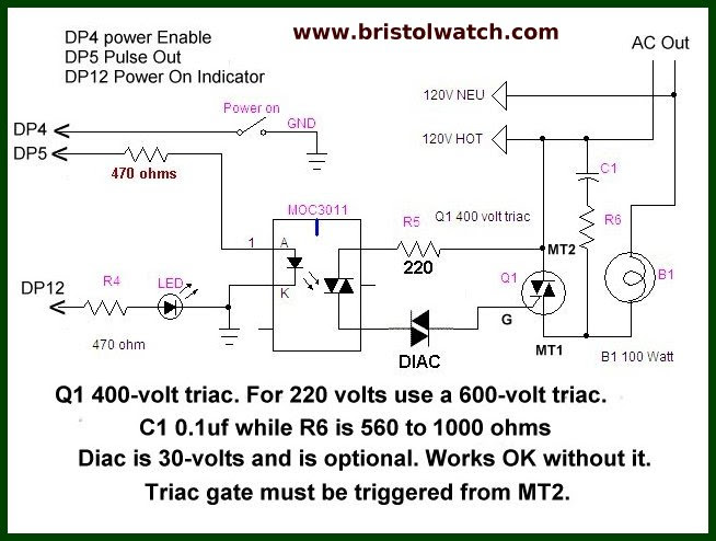 Arduino Ac Power Control Tutorial