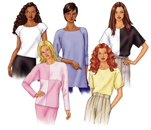 Butterick fast & easy tops 3030