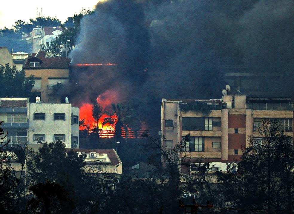 Incêndios em Israel e Cisjordânia estão controlados, dizem autoridades