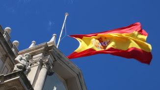 Bandera a mig pal a l'edifici de la a l'edifici de Capitania General, a Barcelona (ACN)