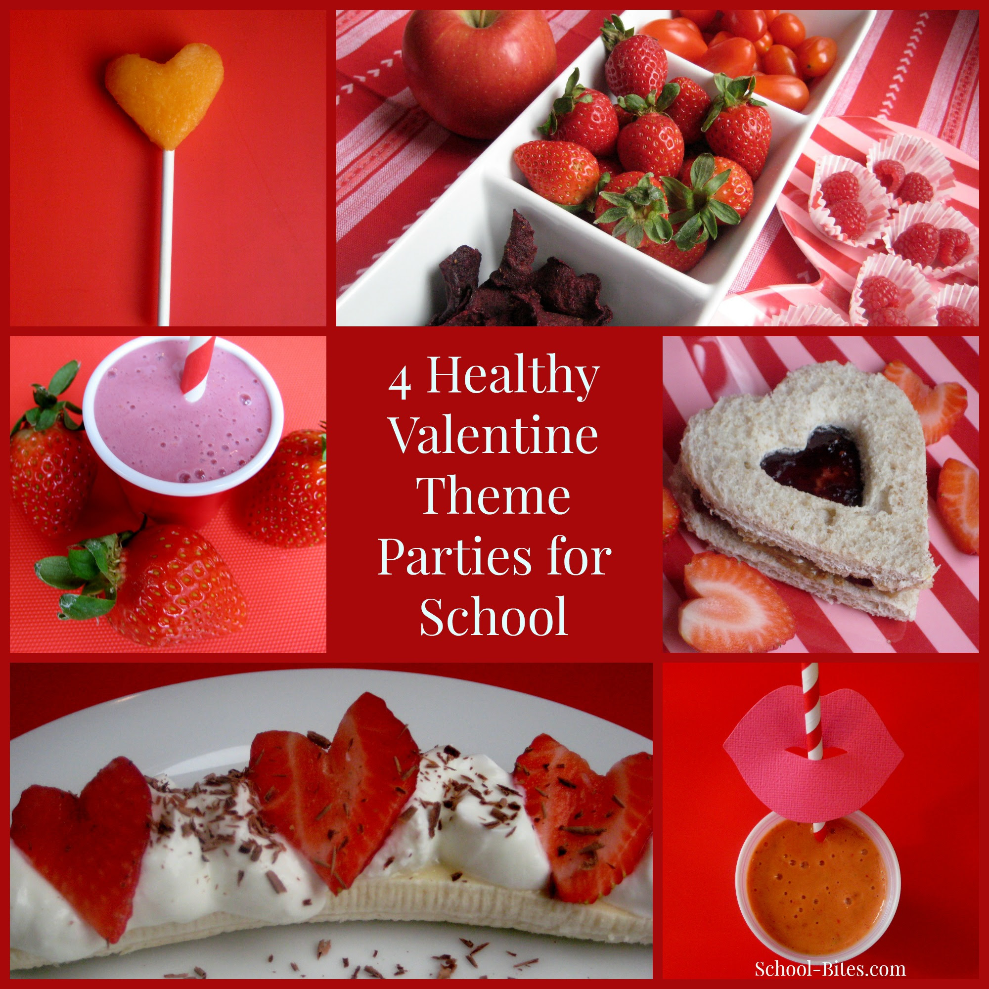 4 Healthy Valentines Day Theme Parties For School Home