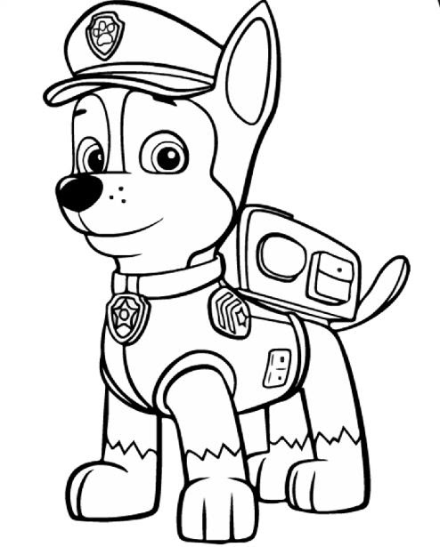 Paw Patrol 45 Coloring Page Free Coloring Pages Online