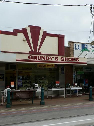 Grundy's Shoes, Glenelg