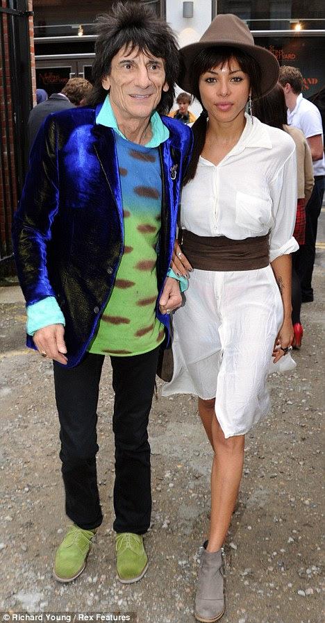 Previous romance: Ronnie dated Brazilian model Ana Araujo until last October