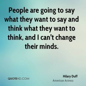 Hilary Duff Quotes Quotehd