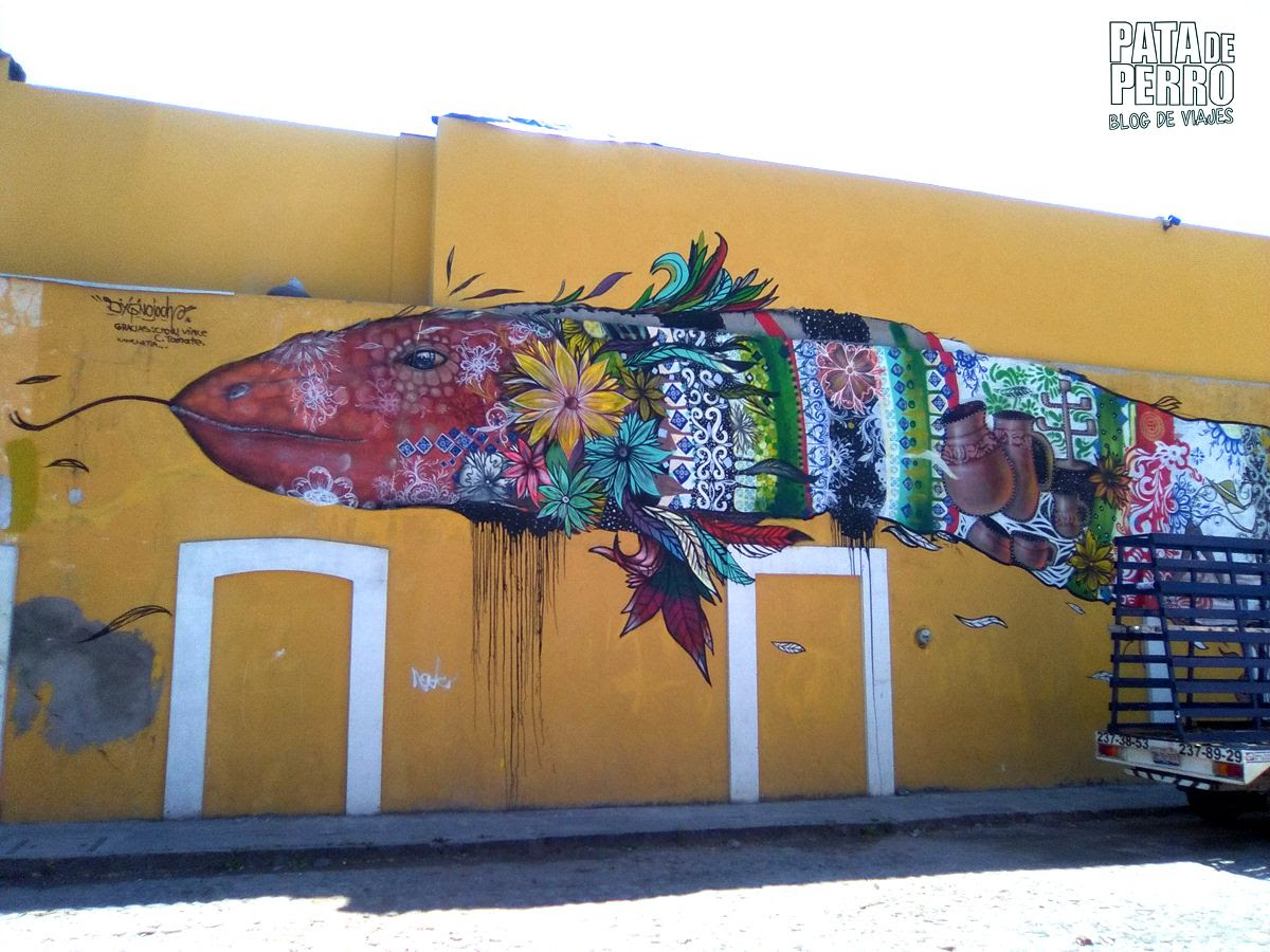 Xanenetla Ciudad Mural Pata De Perro