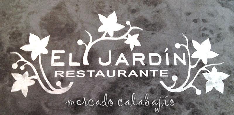RESTAURANTE EL JARDIN XIX