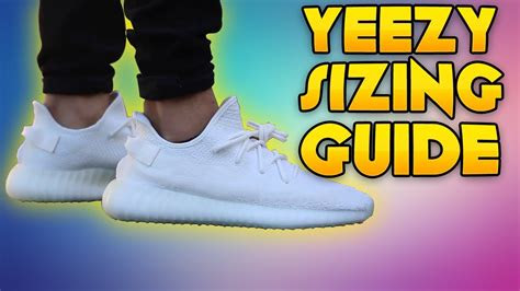 yeezy boost   sizing guide youtube