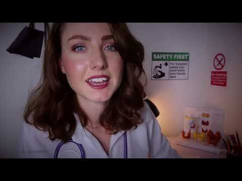 ASMR - Thyroid Examination with Dr. Hastings (ft.) Welltory