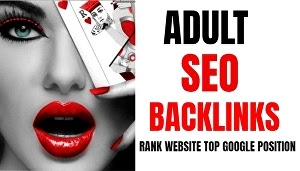 Buy quality backlinks for adult dating toys website be on google top ranking