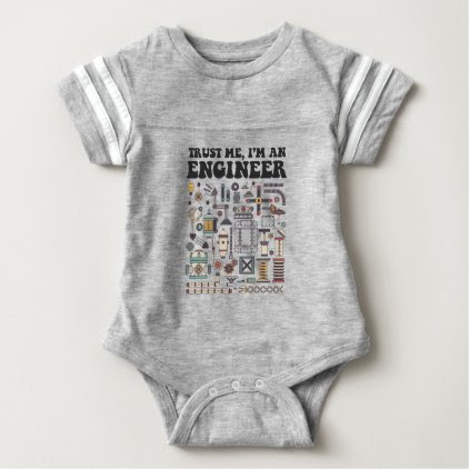 Trust me, I'm an engineer Baby Bodysuit