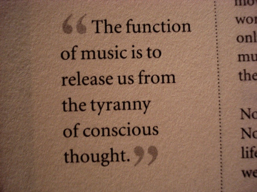 Music Quotes Reflection