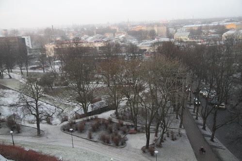 Nice-looking park in Tallinn