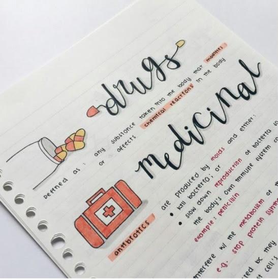 10 Ideas Para Hacer Tus Apuntes De Clase Más Chic