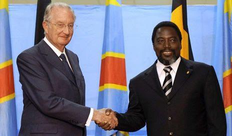 Résultat d'images pour albert II et Joseph Kabila