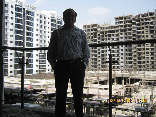 Sparklet - Megapolis Smart Homes 1, Hinjewadi Phase 3, Pune 411057 - 1 - View of under construction podium & A 16 - 17 Buildings - from B 3
