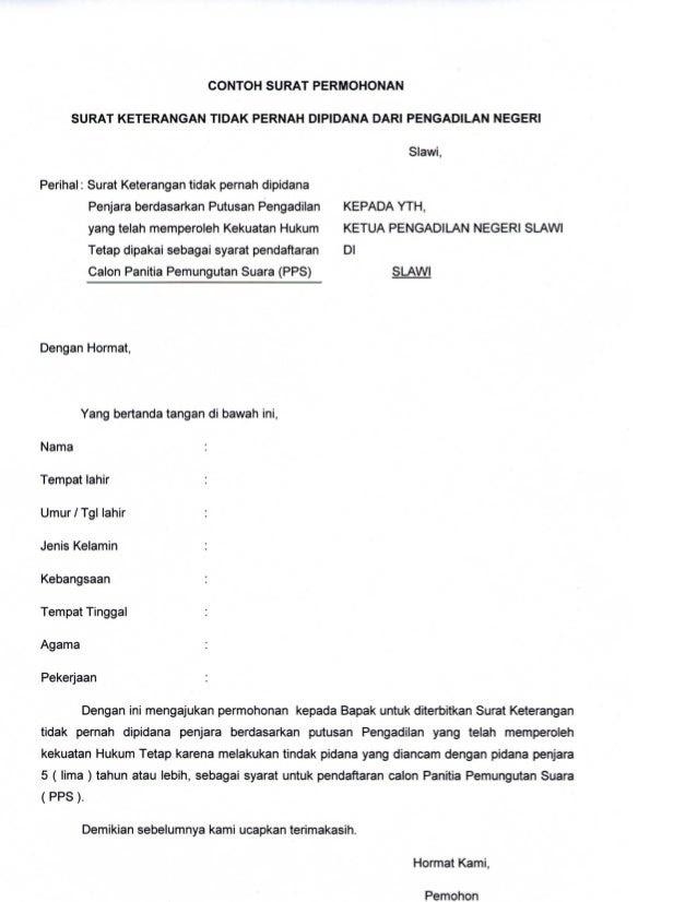 Contoh Surat Pernyataan Orang Tua Untuk Visa China Surat P