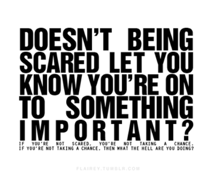 Quotes About Scared Love 96 Quotes