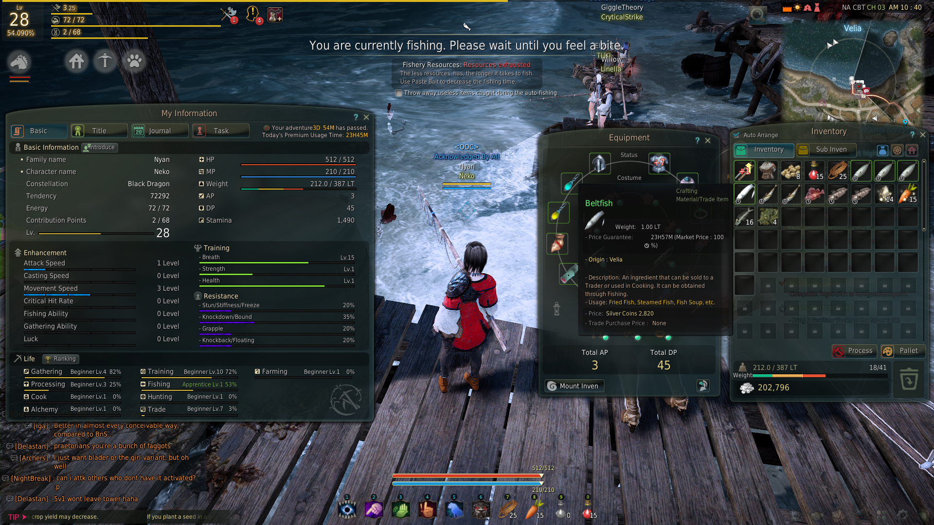 Fishing Tournament Page 54 Events The Black Desert Online