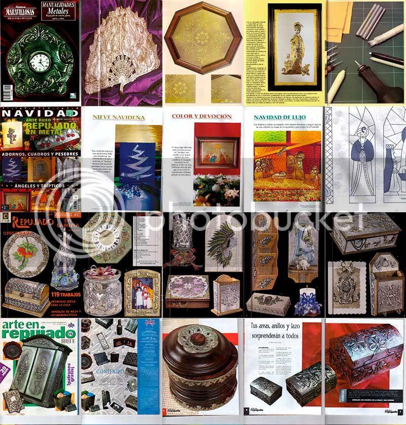 manualidades metales, arte ruso paso a paso, manualidades