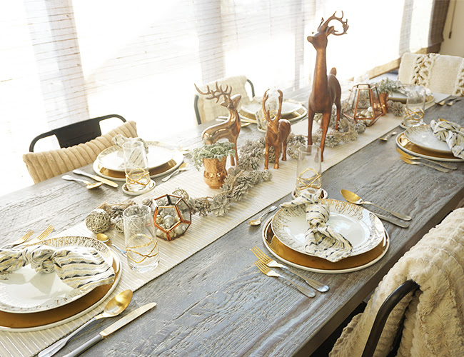 Copper & Gold Holiday Luncheon - Inspired by This