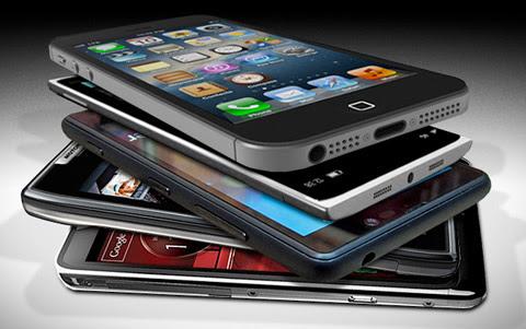 điện thoại di động, smartphone