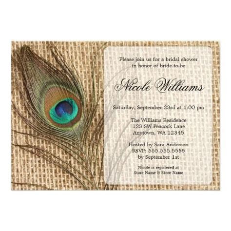 1000  images about Peacock Wedding Invitations on