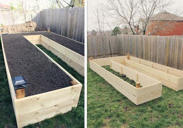 30+ Creative DIY Raised Garden Bed Ideas And Projects --> DIY U-Shaped Raised Garden Bed