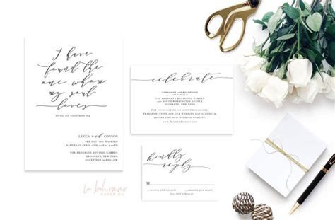 9 Romantic Bible Verse Wedding Invitations that Wow for