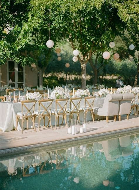 Elegant Blush Napa Wedding at Black Swan Lake   MODwedding