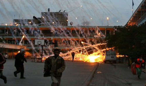 Israeli Attack on Gaza - White Phosphorus