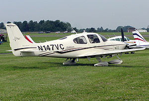 2003 model Cirrus SR22