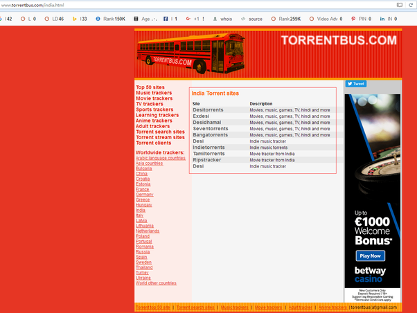 good torrent sites for hindi movies