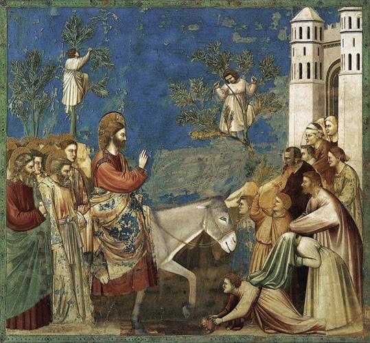 Our Lord Jesus Christ entering Jerusalem on Palm Sunday