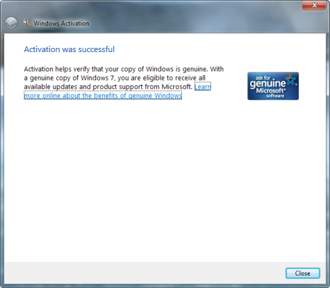 Unable to activate Windows 7 through proxy - Getbusi ...