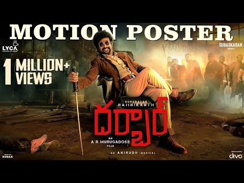 Rajinikanth's DARBAR motion poster, stills and working stills - Darbar Movie Gallery