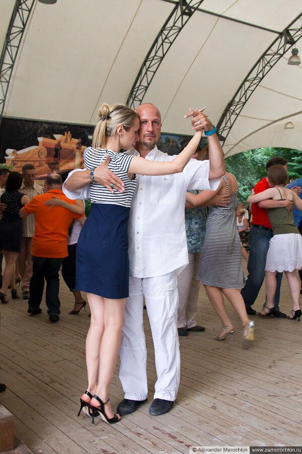 Екатерининский парк. Танцы