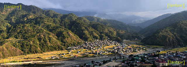 Sun goes down in Bontoc
