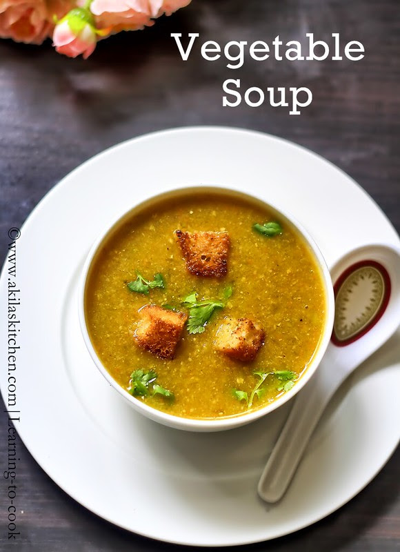 Indian vegetable soup