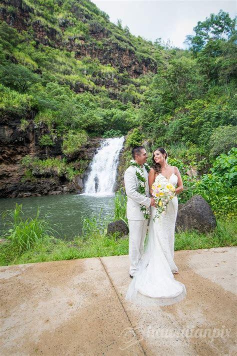Waimea Falls wedding, Oahu Waimea Valley, Wedding