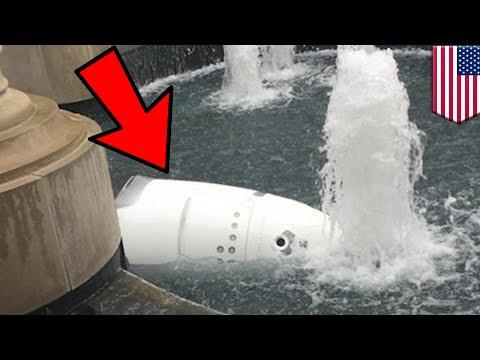 .美一保全機器人投池自殺:可能它是真累了