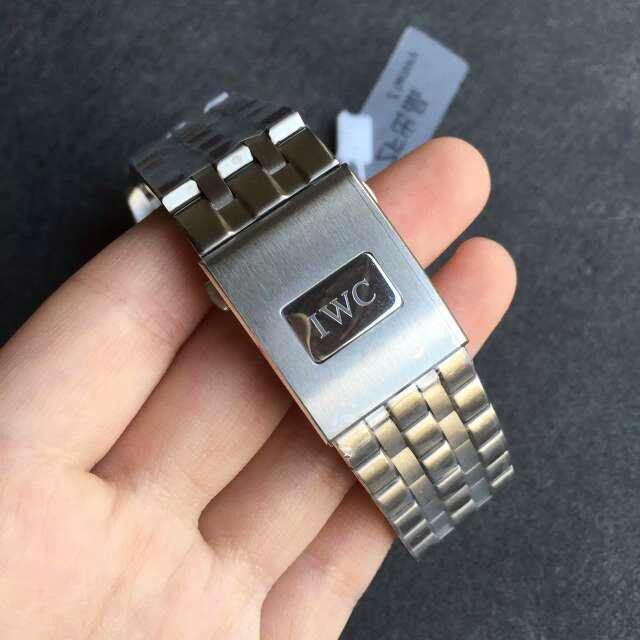 IWC Engraving on Buckle