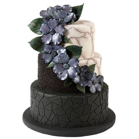 Wicked Wedlock Halloween Wedding Cake   Wilton