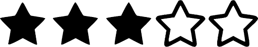 Image result for three  star rating
