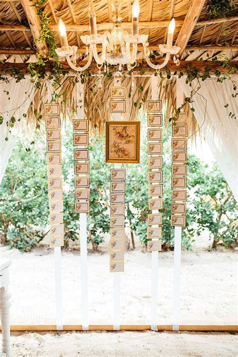 10 Chic Ideas to Display Your Wedding Seating Chart