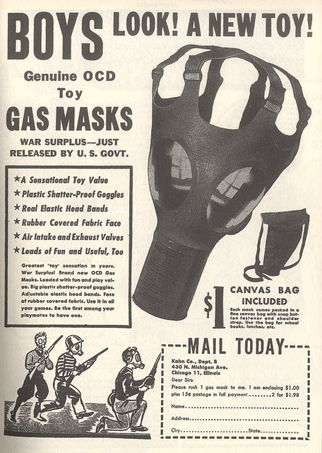 Gas Mask Toy